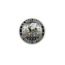 US Navy Seabees Swarm Mini Button