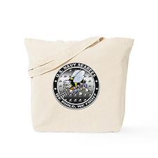 US Navy Seabees Swarm Tote Bag