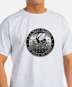 US Navy Seabees Swarm T-Shirt
