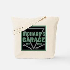 Personalized Garage Tote Bag