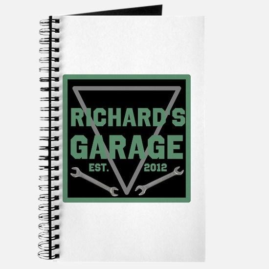 Personalized Garage Journal
