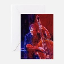 JAZZ BASS Greeting Cards (Pk of 10)