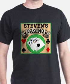 Personalized Casino T-Shirt