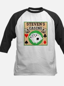 Personalized Casino Kids Baseball Jersey