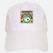 Personalized Casino Baseball Baseball Cap