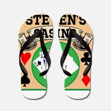 Personalized Casino Flip Flops