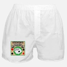 Personalized Casino Boxer Shorts