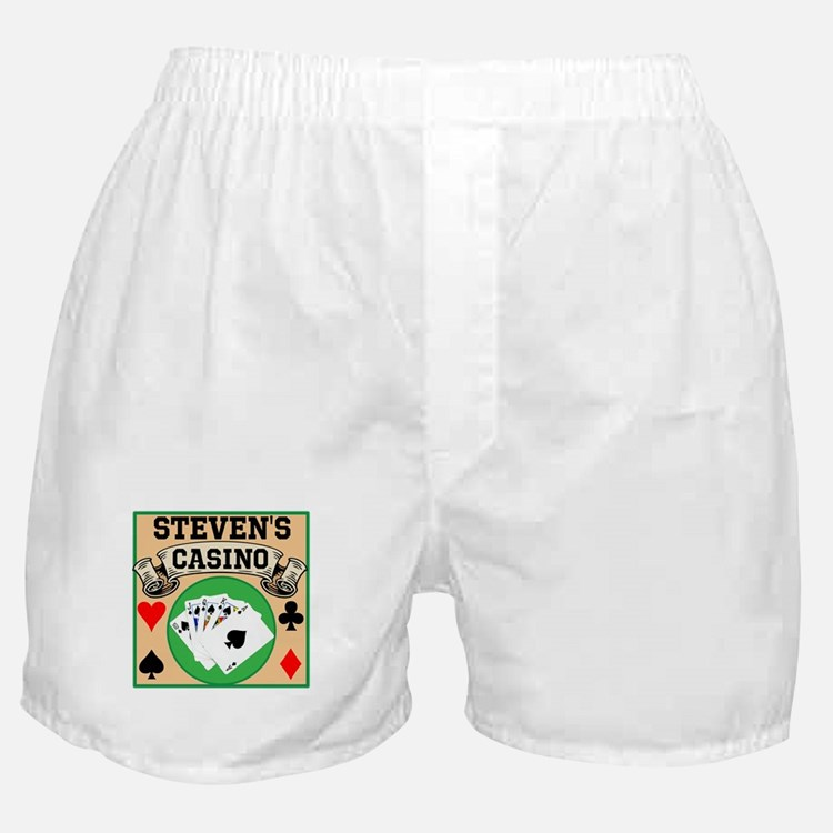 Personalized Casino Boxer Shorts