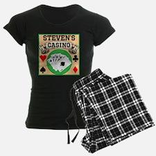 Personalized Casino Pajamas