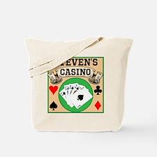 Personalized Casino Tote Bag