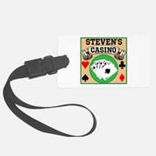 Personalized Casino Luggage Tag