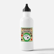 Personalized Casino Water Bottle