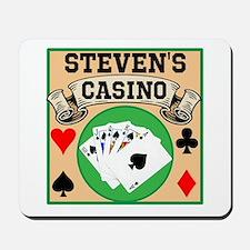 Personalized Casino Mousepad