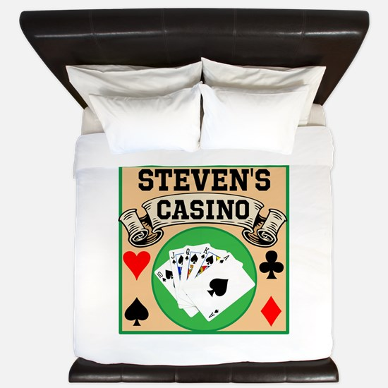 Personalized Casino King Duvet