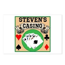 Personalized Casino Postcards (Package of 8)