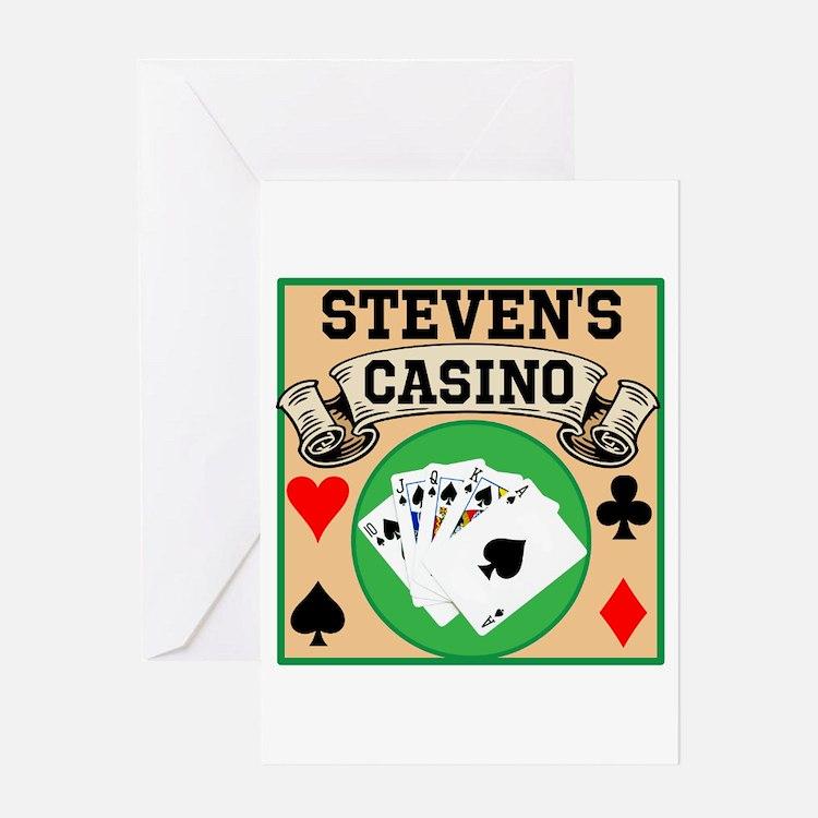 Casino birthday card