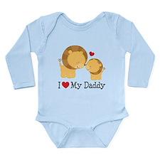 I Heart My Daddy Onesie Romper Suit