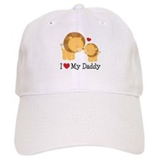 I Heart My Daddy Baseball Cap