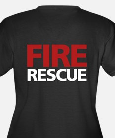 firerescue_text_dark_red.png Women's Plus Size V-N