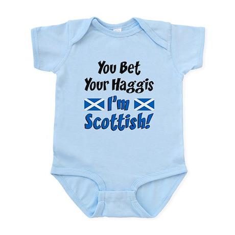 Bet Haggis Im Scottish Infant Bodysuit