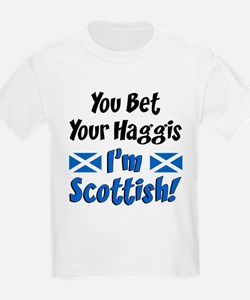 Bet Haggis Im Scottish T-Shirt