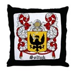 Soltyk Coat of Arms Throw Pillow