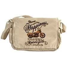 Happiness - Motorcycle Messenger Bag