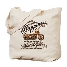 Happiness - Motorcycle Tote Bag