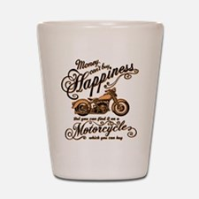 Happiness - Motorcycle Shot Glass