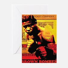 Joe Louis - Brown Bomber Greeting Cards (Pk of 10)