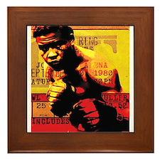 Joe Louis - Brown Bomber Framed Tile