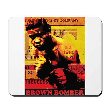 Joe Louis - Brown Bomber Mousepad