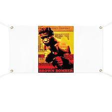 Joe Louis - Brown Bomber Banner