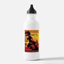 Joe Louis - Brown Bomber Sports Water Bottle