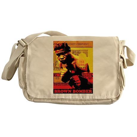 Joe Louis - Brown Bomber Messenger Bag