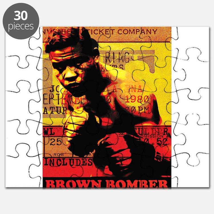Joe Louis - Brown Bomber Puzzle
