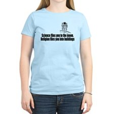 Science flies you to the moon T-Shirt