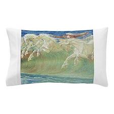 NEPTUNE'S HORSES Pillow Case