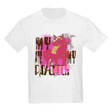 My Horse Ate My Paycheck pink T-Shirt