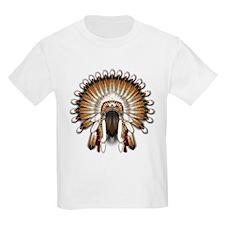 Native War Bonnet 01 T-Shirt