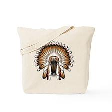Native War Bonnet 01 Tote Bag