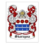 Skarzyna Coat of Arms Small Poster