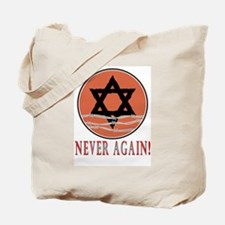 Never Again Tote Bag