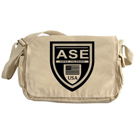 ASE - Aspen, Colorado Messenger Bag
