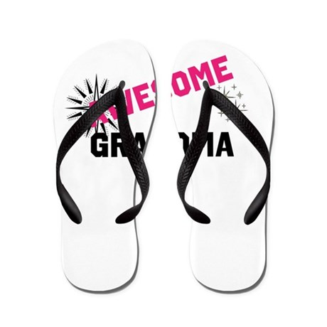Awesome Grandma Flip Flops