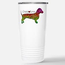 Dachshund - Crazy Love Travel Mug