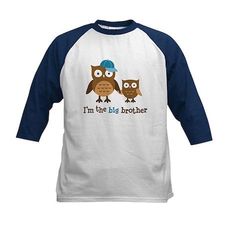 Big Brother - Mod Owl Kids Baseball Jersey
