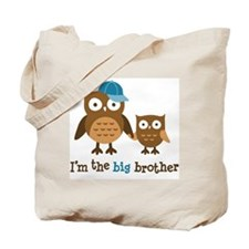 Big Brother - Mod Owl Tote Bag