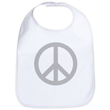 Peace Symbol Bib