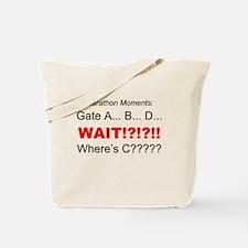 Marathon Moments - Wheres C? Tote Bag